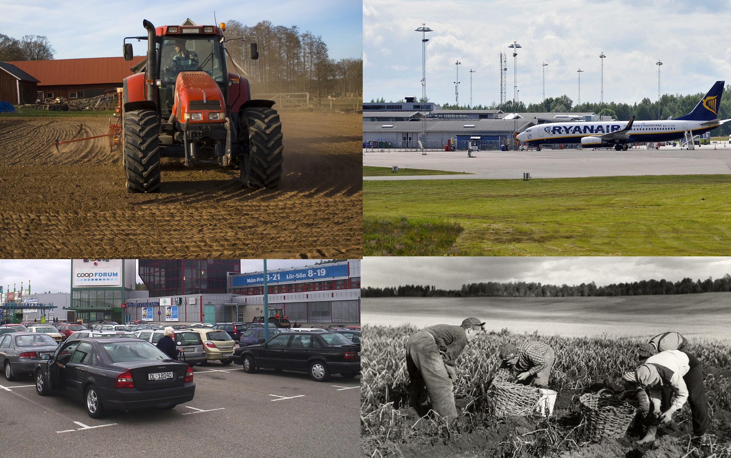 Collage Foto Wikimedia Nordiska Museet