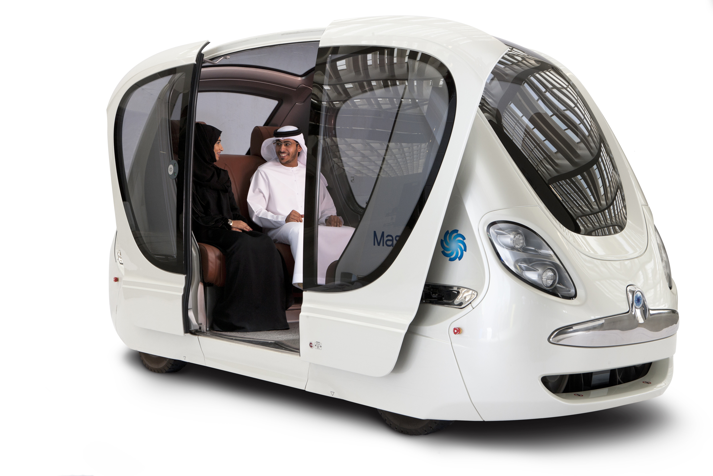 Image showing the Personal Rapid Transit System at Masdar City