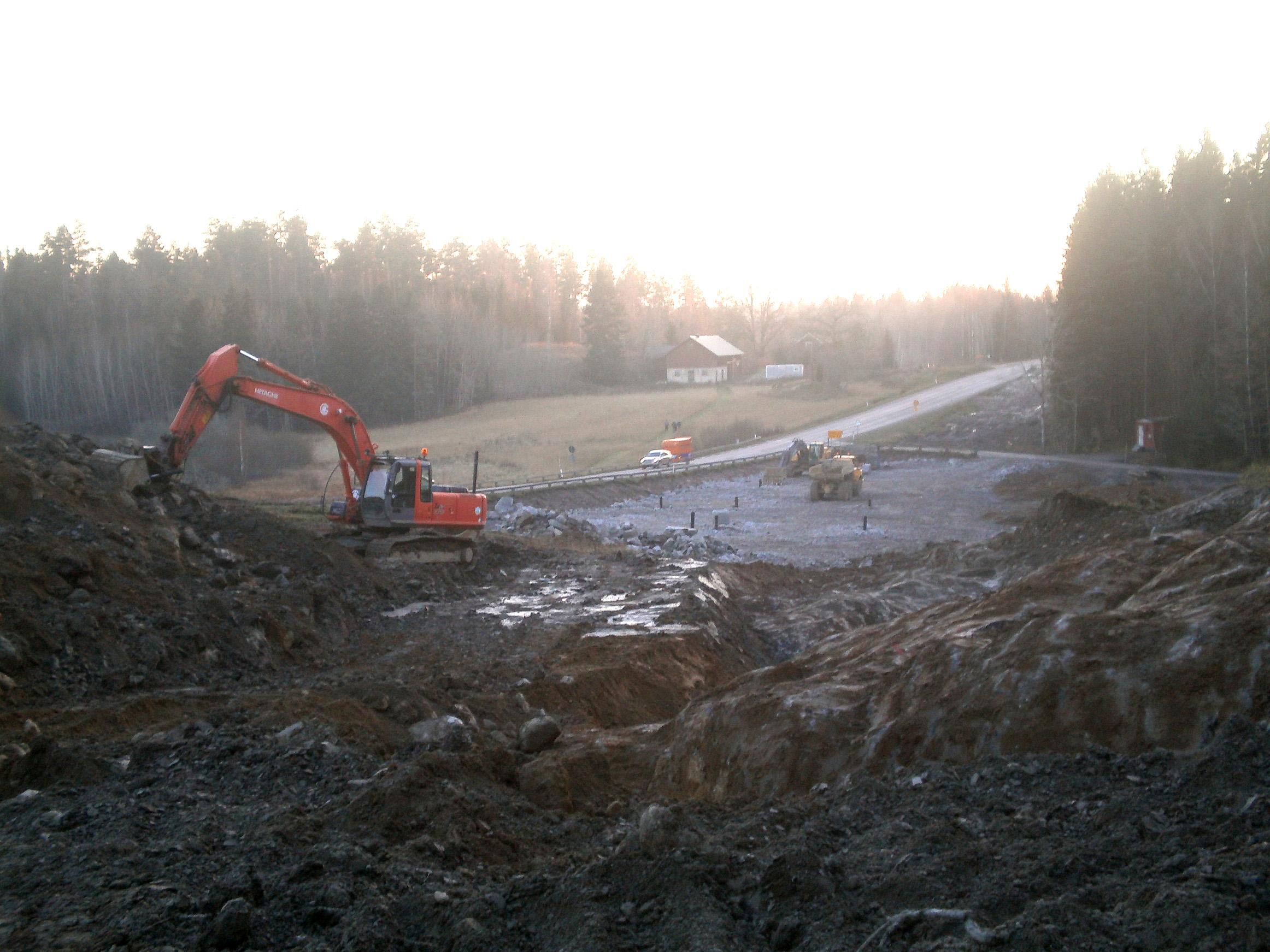 Utbyggnad av riksväg 55 Flens kommun