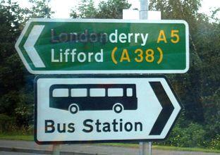 Hur var det nu? Ska det vara Derry eller Londonderry?