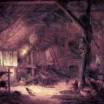 Interiör lada Isaac van Ostade 1645