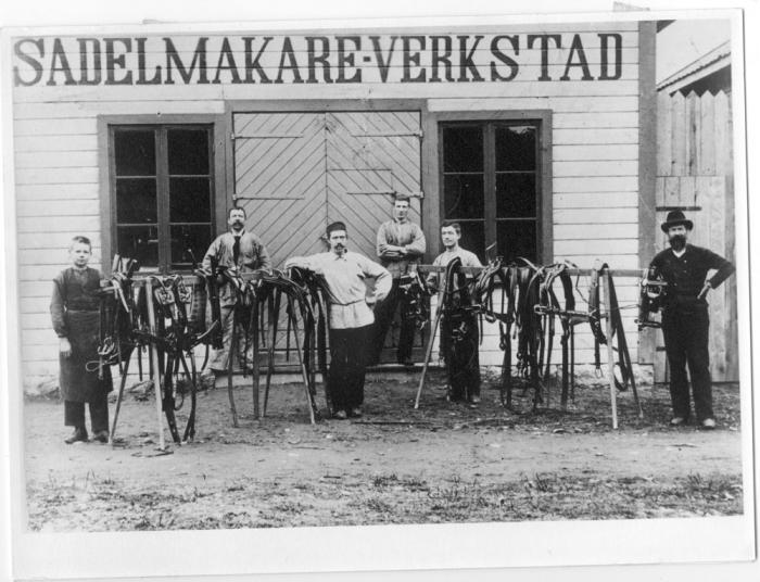J.Falks sadelmakerii Flen, u.å