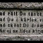 Vad skönt du drömt - Rydberg på graven
