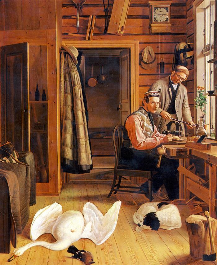 Von Wrights atelje i Savolaks