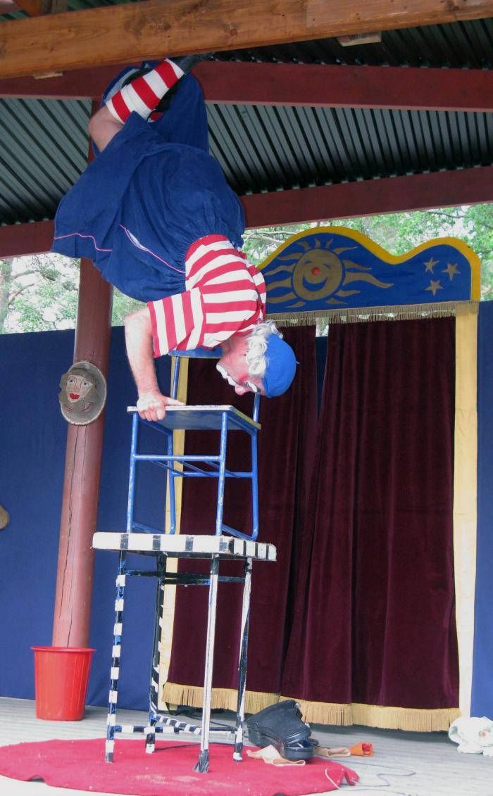 Manne - en akrobat av rang