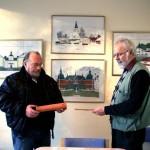Ebbe & Peter på LO:s arbetsmarknadsprojekt i Flen