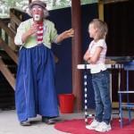 Clownen Manne på Parken Zoo