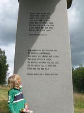 Herre signe och råde bevare mig väl vilken stor sten. Foto: Johan Eriksson