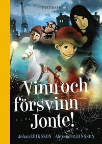 Bokomslag Vinn och Försvinn Jonte Pintxo förlag