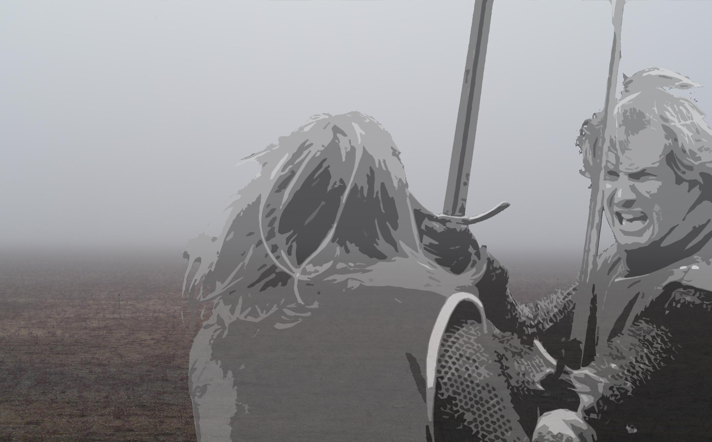 Riddare strider Olustra Montage Johan Eriksson