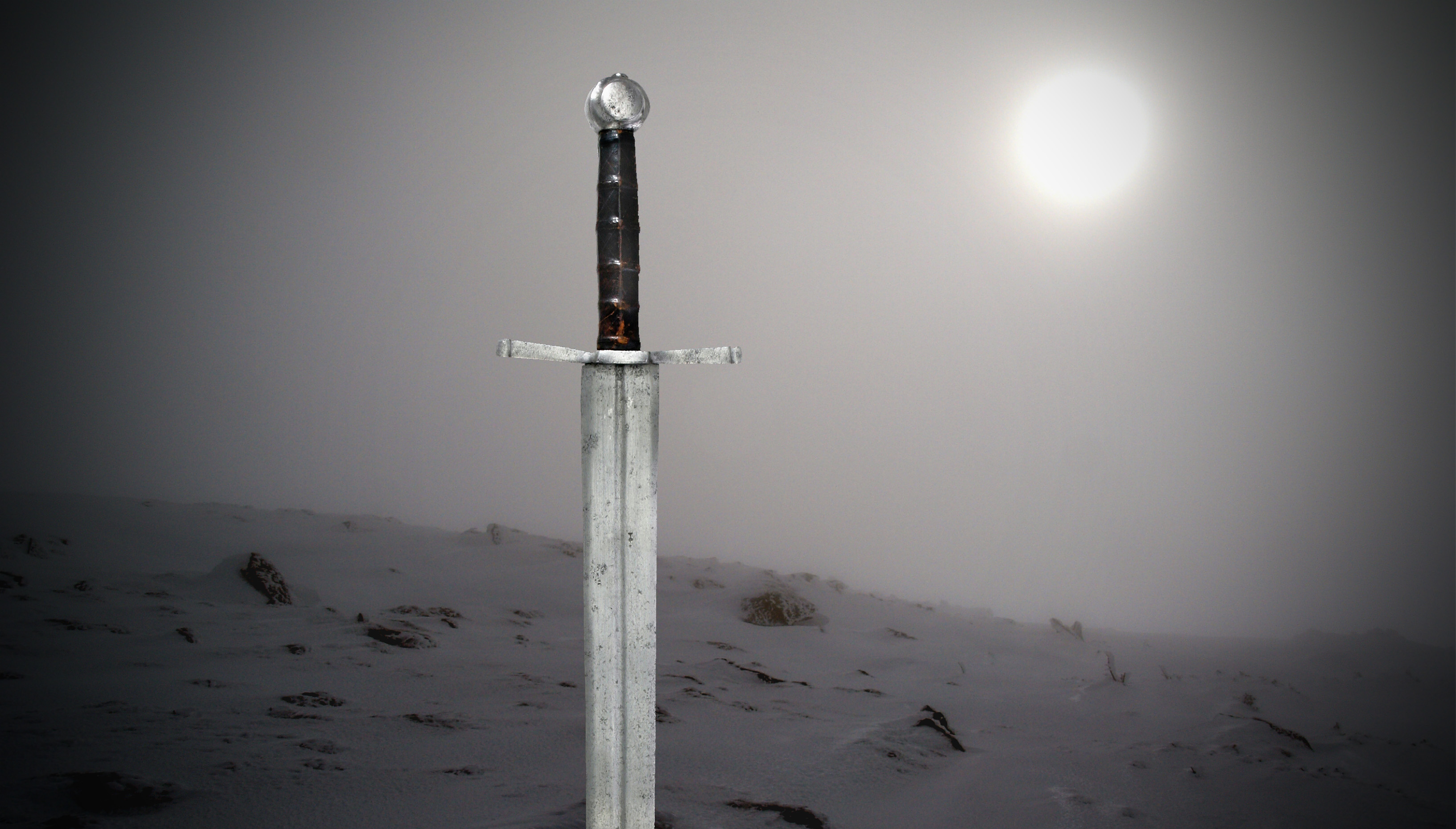 Svärd i dimman, Olustra. Montage: Johan Eriksson