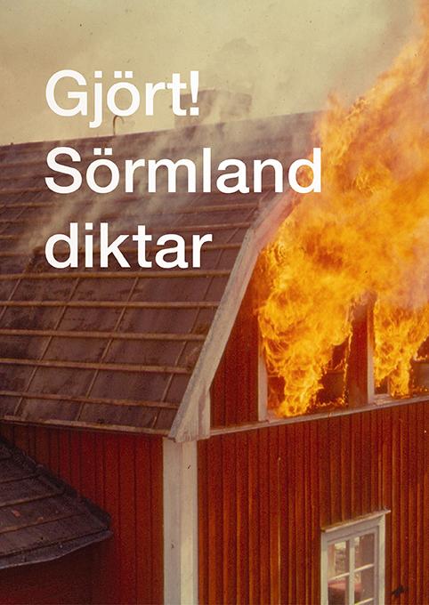 Omslag Gjört Sörmland diktar
